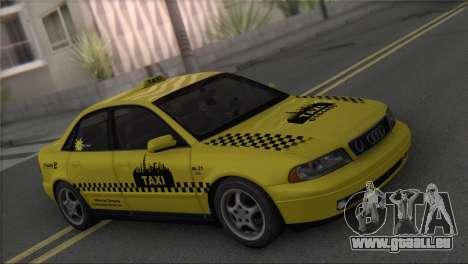 Audi A4 1.9 TDI 2000 Taxi pour GTA San Andreas