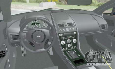 Aston Martin V12 Vantage S 2013 für GTA San Andreas Unteransicht