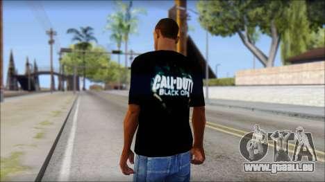 Black Ops T-Shirt pour GTA San Andreas deuxième écran