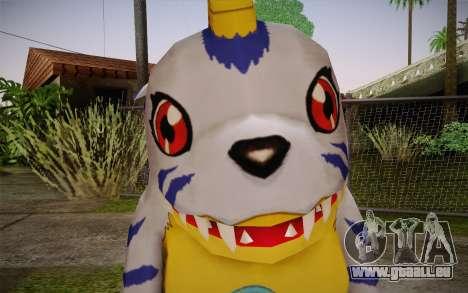 Gabumon für GTA San Andreas dritten Screenshot