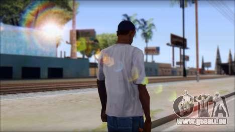 Gangnam Style T-Shirt pour GTA San Andreas deuxième écran