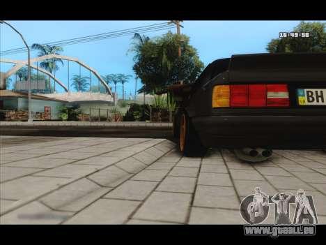 BMW e30 UDC für GTA San Andreas Rückansicht