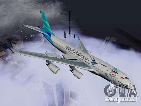 Boeing 747-400 de Garuda Indonesia pour GTA San Andreas laissé vue