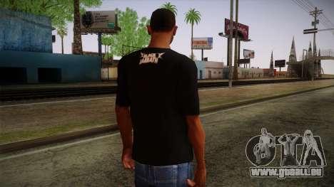 Black Sabbath T-Shirt pour GTA San Andreas deuxième écran