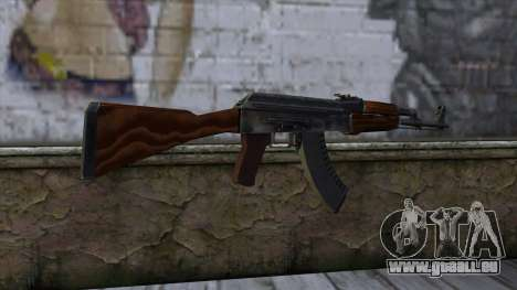 AK47 from CS:GO v2 für GTA San Andreas zweiten Screenshot