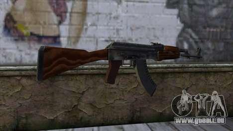 AK47 from CS:GO v2 pour GTA San Andreas deuxième écran