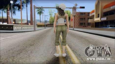 Un Aspirant Miss pour GTA San Andreas deuxième écran
