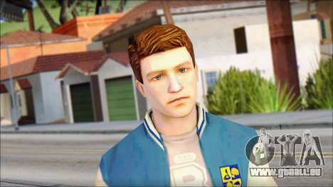 Ted from Bully Scholarship Edition pour GTA San Andreas