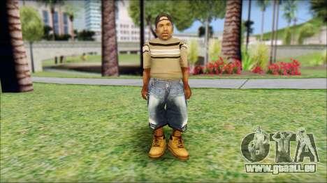 CJ Dwarf v2 pour GTA San Andreas