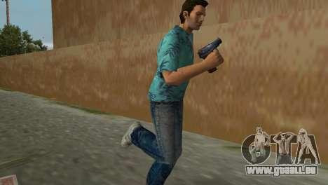 Un Pistolet Makarov pour le quatrième écran GTA Vice City