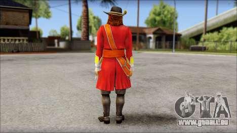 Morgan pour GTA San Andreas deuxième écran