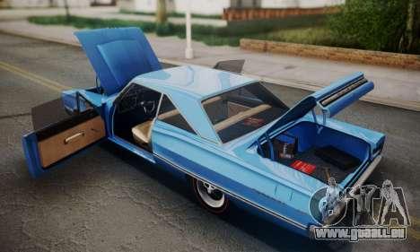 Dodge Coronet 440 Hardtop Coupe (WH23) 1967 pour GTA San Andreas vue de côté