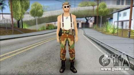 Teniente Armstrong pour GTA San Andreas