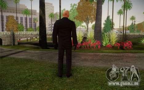 Hitman Blood Money Agent 47 pour GTA San Andreas deuxième écran
