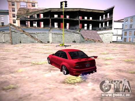 Audi A4 Extrême pour GTA San Andreas laissé vue