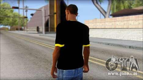 Batman T-Shirt pour GTA San Andreas deuxième écran