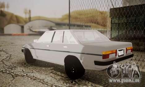 Toyota Cressida 1987 für GTA San Andreas linke Ansicht