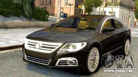 Volkswagen CC pour GTA 4