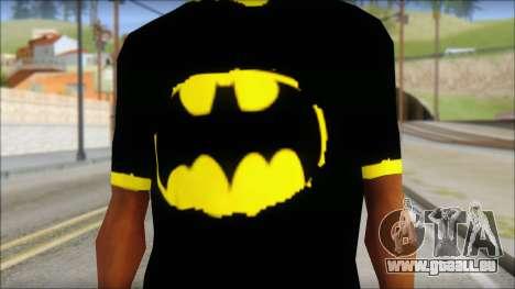 Batman T-Shirt pour GTA San Andreas troisième écran