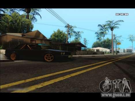 BMW e30 UDC für GTA San Andreas linke Ansicht