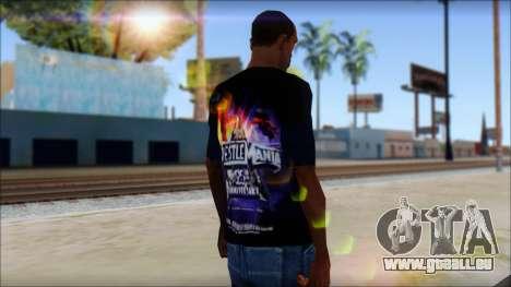 Wrestle Mania T-Shirt v1 pour GTA San Andreas deuxième écran