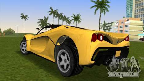 Turismo R from GTA 5 für GTA Vice City linke Ansicht