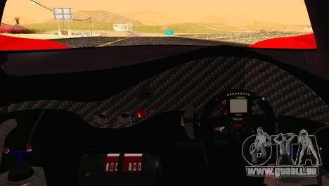 Mazda Furai 2008 für GTA San Andreas Seitenansicht