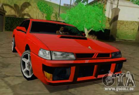Sultan Coupe für GTA San Andreas linke Ansicht