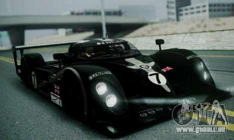 Bentley Speed 8 2003 pour GTA San Andreas
