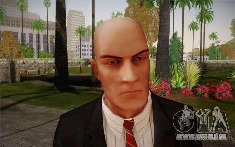 Hitman Blood Money Agent 47 pour GTA San Andreas troisième écran