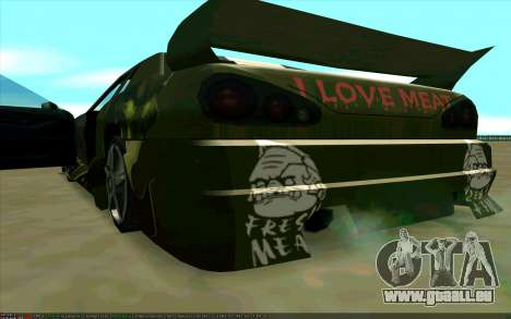 Les travaux de peinture de Pudge (Dota 2) pour É pour GTA San Andreas vue de droite