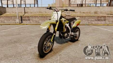 Yamaha YZF-450 v1.16 pour GTA 4