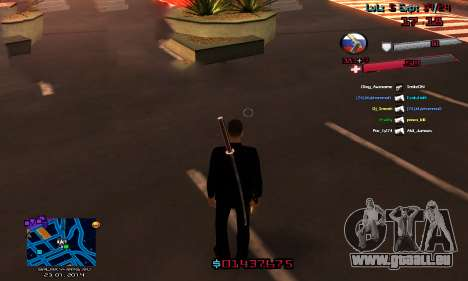 C-HUD by Accord für GTA San Andreas zweiten Screenshot