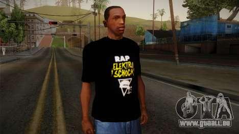 Silla Rap Elektro Schock Shirt pour GTA San Andreas