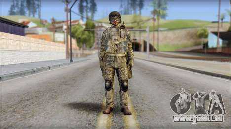 Forest SFOD from Soldier Front 2 pour GTA San Andreas