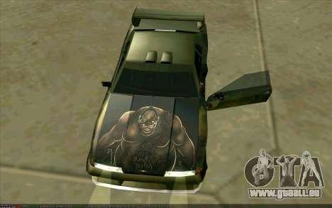 Les travaux de peinture de Pudge (Dota 2) pour É pour GTA San Andreas sur la vue arrière gauche