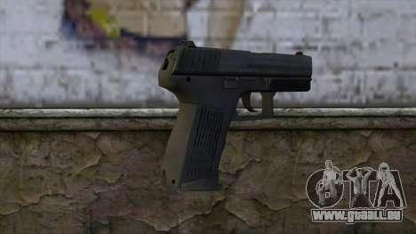 HK P2000 from CS:GO v1 für GTA San Andreas zweiten Screenshot