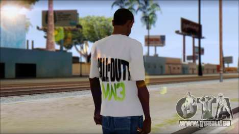 COD MW3 Fan T-Shirt für GTA San Andreas zweiten Screenshot