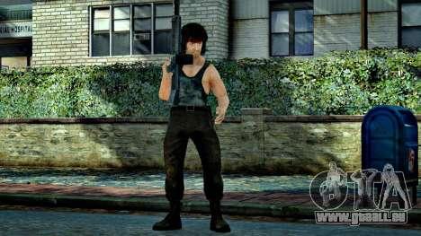 Rambo pour GTA 4 troisième écran