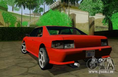 Sultan Coupe für GTA San Andreas rechten Ansicht