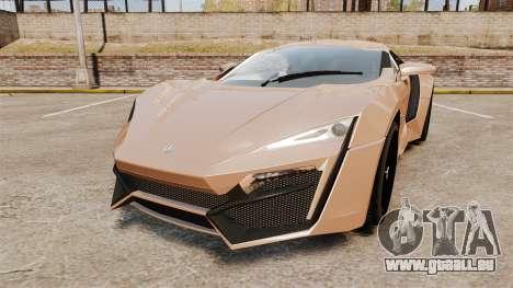 Lykan HyperSport für GTA 4
