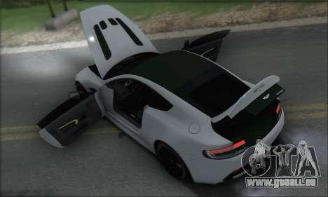 Aston Martin V12 Vantage S 2013 pour GTA San Andreas roue