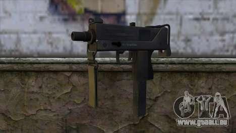 Mac-10 from CS:GO v2 pour GTA San Andreas