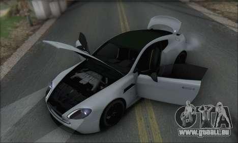 Aston Martin V12 Vantage S 2013 pour GTA San Andreas moteur