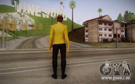 James T. Kirk From Star Trek für GTA San Andreas zweiten Screenshot