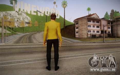 James T. Kirk From Star Trek für GTA San Andreas zweiten Screenshot