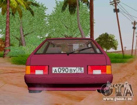 VAZ 21083 pour GTA San Andreas vue arrière