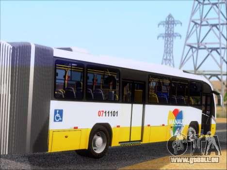 Neobus Mega BRT Volvo B12M-340M pour GTA San Andreas vue de droite