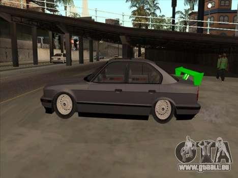 BMW 535i für GTA San Andreas Innenansicht