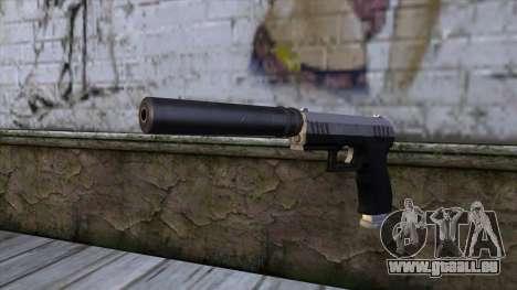 Silenced Combat Pistol from GTA 5 für GTA San Andreas